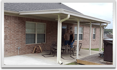 Patio Covers Central Arkansas