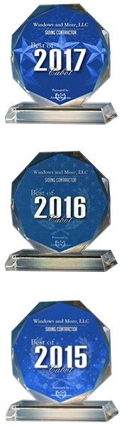 Siding Contractor Awards Cabot