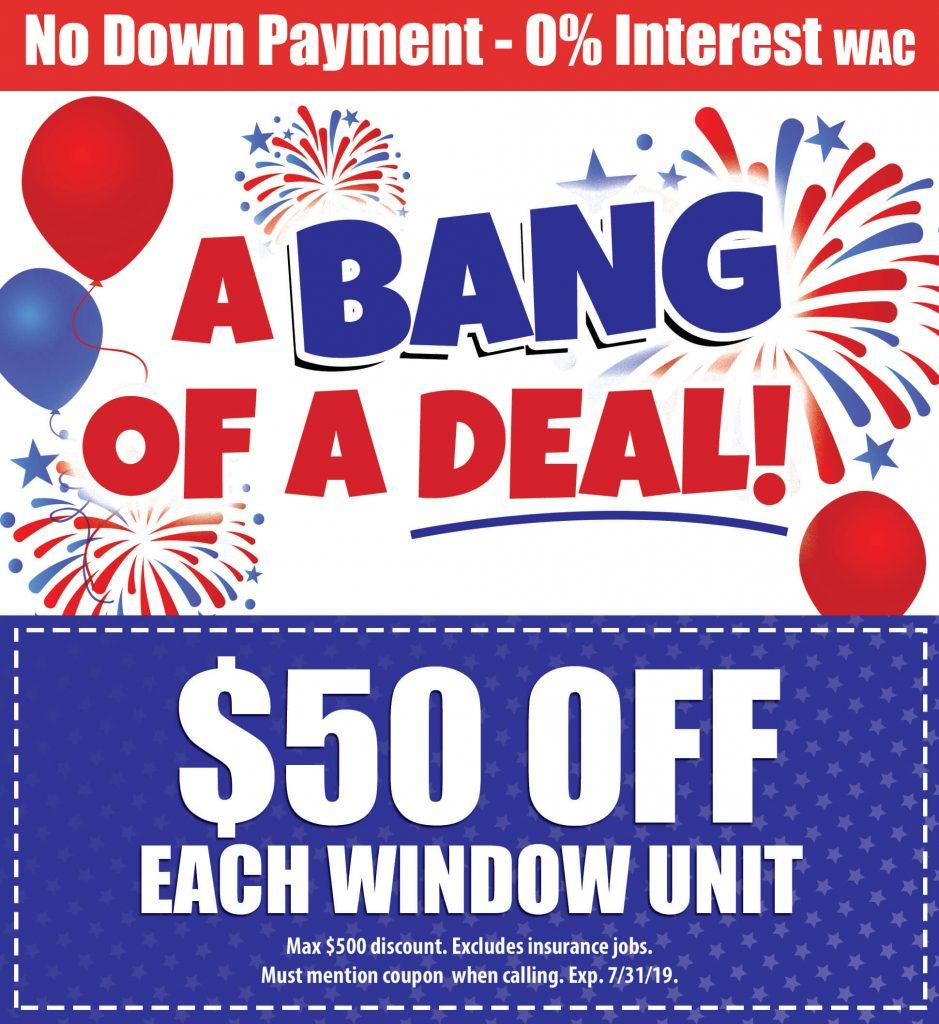 50% Off on Window Unit Windows & More Arkansas